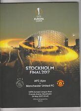 Orig.PRG   Europa League   2016/17  FINALE  AJAX AMSTERDAM - MANCHESTER UNITED !