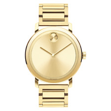 Movado Bold Gold Dial Men's Watch 3600508