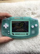 Backlit IPS Mint Green Pokémon Gameboy Advance GBA Glass Lens Nintendo Cart NES