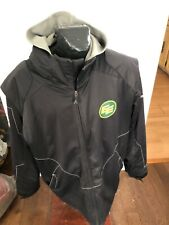 MENS XLarge  Football CFL Authentic Sideline Winter Jacket Edmonton Eskimos