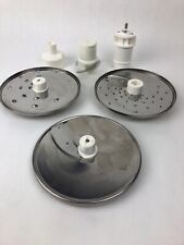 Robot Coupe Food Processor Blades And Parts Sabatier Genuine As Is - FSTSHP