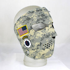 Face mask Desert Camouflage Camo Army Airborne visage protection masque tempête Capot NEUF
