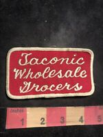 Vintage TACONIC WHOLESALE GROCERS Advertising Patch Grocery Store Wholesale C80X