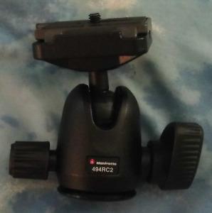 Manfrotto 494RC2 Mini Ball Tripod Head