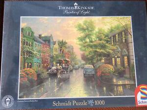 New Sealed Schmidt Thomas Kinkade 1000 Piece Jigsaw Puzzle