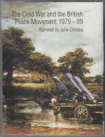 Cold War & British Peace Movement 1979 - 89 Cassette Audio Book Julie Christie