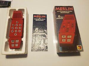 MERLIN Jeu Electronic MIRO MECCANO 1979  superbe état