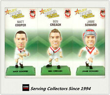2009 Select NRL Color Figurine Collectable Trading CARDS team Set Dragon (3)
