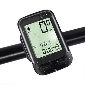 MTB Bike Computer Wireless Bicycle Odometer Speedometer For Cycling Waterproof
