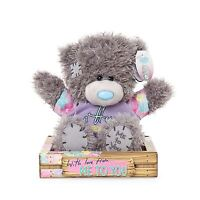 """Me to You 7"""" Hug From Me to You & Floral T-Shirt Plush In Box - Tatty Teddy Bear"""