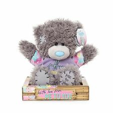"Me to You 7"" Hug From Me to You & Floral T-Shirt Plush In Box - Tatty Teddy Bear"