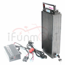 48V 20.3AH Rear Carrier Li-ion Battery Panasonic Cell NCR18650-29PF With Charger