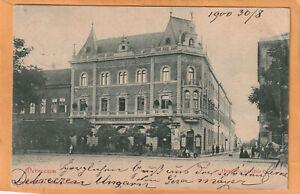 Debrecen Hungary 1900 Postcard Mailed