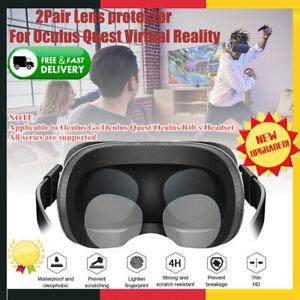 2Pair Len Protector HD Clear Film For Oculus Quest Rift Go Virtual Reality Len ~