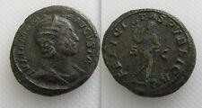 MONETA romana BRONZO JULIA MAMAEA-Madre di Severus Alexander-come di Roma Nuovo di zecca
