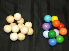 MANHATTAN TOY BABY INFANT TODDLER SENSORY WOOD WOODEN BEAD BALLS LEARNING TOY