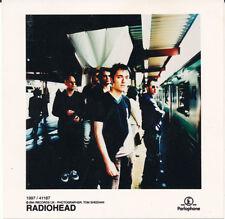Radiohead OK Computer RARE 4.75 x 4.75 color publicity photo '97