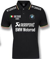 POLO BMW TRICOLORE R1200GS  ITALIA UOMO mens T-SHIRT FELPA CAMICIA S M L XL XXL