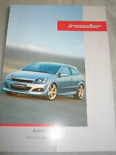 Opel Astra GTC Irmscher brochure Feb 2005 English text