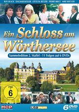 6 DVDs * EIN SCHLOSS AM WÖRTHERSEE - STAFFEL 2 -  ROY BLACK # NEU OVP