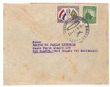 UU404 1941 Paraguay Rio Brésil Cover {samwells couvre -}