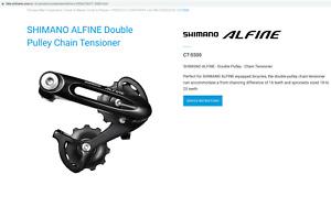SHIMANO ALFINE Double Pulley Chain Tensioner NEW