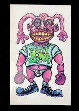 1998 White Zombie Promo Postcard Sticker