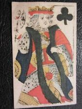 Rare 1750, Authentic Provence French Playing Card