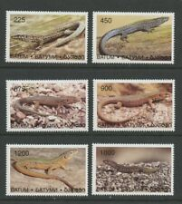 Lizards mnh set of 6 stamps Batum