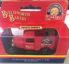 MATCHBOX MB38 MODEL A VAN BEECHWORTH BAKERY