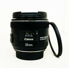 Canon EF 35 mm f/2.0 IS USM Wide Angle Lens + Filter