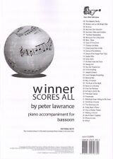 WINNER SCORES ALL Lawrance Bassoon Piano Accomps