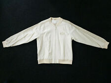 Adidas A15 Deluxe Snake Skin Leather Jacket Limited Edition Cream Size L