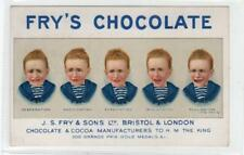 FRY'S CHOCOLATE: advertising postcard (C29906)