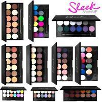 100% Genuine Sleek Make Up I Divine 12 Colours Eyeshadow Palette