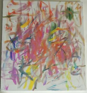 Joan Mitchell (American, 1925-1992) Untitled. Oil on canvas