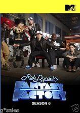 Rob Dyrdek's Fantasy Factory Complete 6th Sixth Season 6 Six ~ BRAND NEW DVD SET