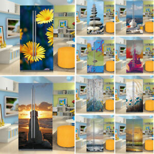 Two-door Fridge Sticker Self Adhesive Kitchen Wallpaper Vinyl Refrigerator Cover