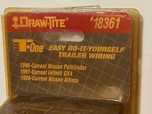 Draw-Tite 18361 Trailer Connector Kit, Nissan Pathfinder & Altima, Infiniti QX4