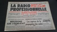 Journal Monthly La Radio Professional N° 174 June 1949 ABE