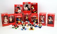 Lot of 17 Disney Christmas Hanging Ornaments Schmid w/ Boxes Mickey Minnie Goofy