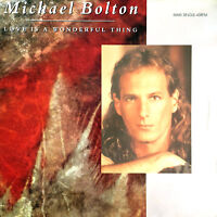 "Michael Bolton ‎12"" Love Is A Wonderful Thing - Holland (VG+/VG+)"