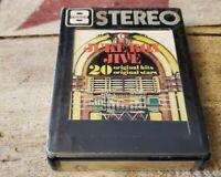 Juke Box Jive 8-Track Tape - (20 Original Hits/Stars) Curtis Lee & More - NOS