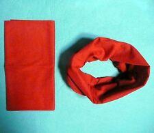 Solid Colors Tube Scarf Bandana Head Face Mask Neck Gaiter Snood Headwear Hot!