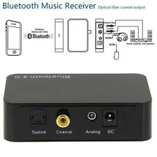 Bluetooth 4.0 Music Receiver Aptx Wireless audio adaptor With Coaxial Optical UK