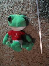 "Green Geico Gecko 7"" Stuffed Animal"