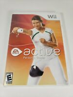 EA Sports Active Personal Trainer Nintendo Wii CIB Complete Fitness Exercise