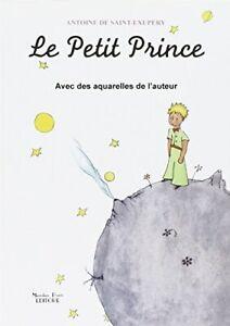 9788864760476 Le Petit Prince avec des aquarelles de l'auteur [Lingua francese]