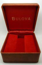 Rara Scatola BULOVA Watch Rare Box Vintage