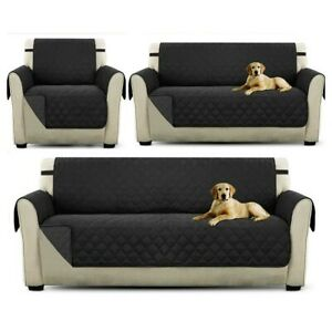 Sofa 1/2/3 Seater Waterproof Cover Animal Furniture Protection Covers Protector